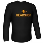 GamersWear HeadShot Longsleeve Black (XXL)