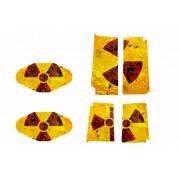 Playstation 4 Sticker Radioactiviteit