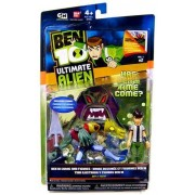 Ben 10 Ultimate Alien Comic and Figures Ben and Vilgax V2, 2-pack 4 Inch by Bandai (English Manual)