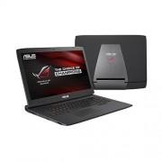 """ASUS ROG G751JY-T7351T i7-4750HQ(3.20GHz) 16GB 1TB+256GB SSD 17.3"""" FHD matný GTX980M/4GB Blu-Ray Win10 čierna 2r"""