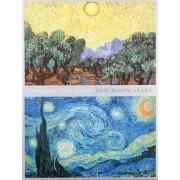 Van Gogh Sun Moon Stars Portfolio Notes by Vincent Van Gogh