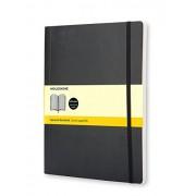 Moleskine Classic - Cuaderno de tapa blanda, color negro