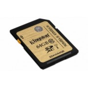 Memoria Flash Kingston, 64GB SDXC UHS-I Clase 10