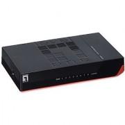 LevelOne 8-Port 10/100 Desktop/Wall Mountable Switch(FSW-0811)