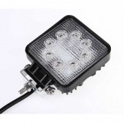 Munkalámpa LED szögletes 24W 12/24V