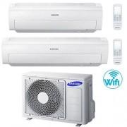 Samsung Climatizzatore Condizionatore Samsung AR5500M Dual Split Inverter 9000 + 18000 BTU con U.E. AJ050FCJ2EH/EU Classe A++/A
