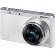 Aparat Foto Mirrorless Samsung NX Mini kit 9mm Alb