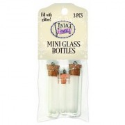 Sulyn 3 Mini Glass Bottles (2 Large Tubes 1 Small Tube)