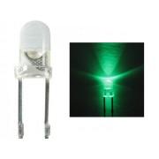 NTR 92327 3mm LED zöld 3V 20mA 120fok