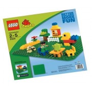 LEGO Duplo Green Building Plate (15 X 15 )