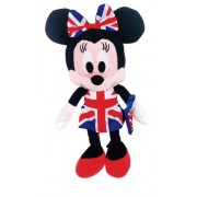 Union Jack, I Love Minnie 22782 - Peluche, Minnie, 25 cm
