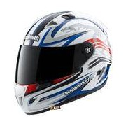 Schuberth SR1 Racingline White/Red/Blue -