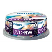 DVD-RW 4.7GB (25 buc. Spindle, 4x) PHILIPS