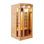 items-france APOLLON 1 PL - Sauna infrarouge apollon 1 place 90x90x190cm
