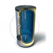 Буферен съд за битова топла вода Емайлиран стоманен водосъдържател Високоефективна CFC FREE 50 mm пенополиуретанова изолация Анодна защита Външен термоиндикатор Предпазен клапан 3 Термопокета за термосензор 1+1 Вход/Изход Вход за рециркулация Достъп до во