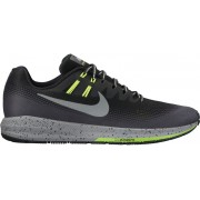 Nike Air Zoom Structure 20 Shield Running Shoe Men Black/Metalli Streetwear