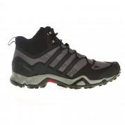 Adidas Terrex Swift R Mid Herren Gr. 9 - grau schwarz / granite/co black/solid grey - Sportliche Hikingstiefel