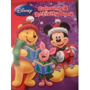 Disney Christmas Coloring & Activity Book ~ Disneys Winnie the Pooh & Mickey Mouse