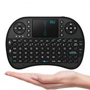 iPazzPort Mini Wireless Entertainment Keyboard for Smart TV Control and Android/Google TV Box/HTPC/Xbox260/PS3 with Touchpad KP-810-21B