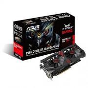 Asus Radeon STRIX-R9380-DC2-2GD5-Gaming Scheda Video, Nero/Rosso