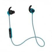 JBL Reflect Mini BT - безжични Bluetooth слушалки с микрофон за iPhone, iPod, iPad и мобилни устройства (светлосин)