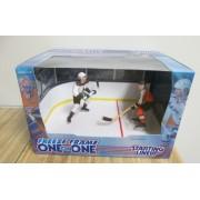 Starting Lineup National Hockey League NHL Freeze Frame 1998 Series One on One - Tkachuk Phoenix vs LeClair Flyers