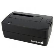 "StarTech.com - Estación de Conexión Dock USB 3.0 para Discos Duros HDD SATA de 2,5"" y 3,5"" pulgadas"