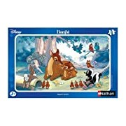 Ravensburger Children's Jigsaw Puzzle - 15 Pieces - Bambi's Mother Giving Bambi an Affectionate Look