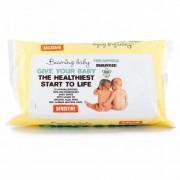 Servetele umede Beaming Baby cu aloe vera foarte moi si delicate cu pielea bebelusului, 72 buc