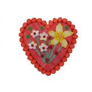 Tarta Coeurs flores II