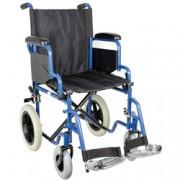 sedia a rotelle / carrozzina essex - tessuto nero