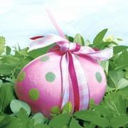 Servetele Paste - Ou de Paste roz