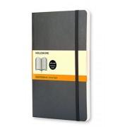 Moleskine QP616 - Cuaderno A5, 13 x 21 cm, color negro oscuro