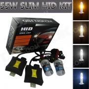 H9 55W 3158lm 4300K voiture jaune Sunset HID lampes au xénon w / Ballasts Kit (paire / 13.2V)
