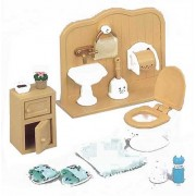 Sylvanian Families housekeeping toilet set over -606 (japan import)