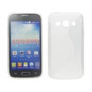 SS Samsung Galaxy Ace 3 GT-S7270 GT-S7272 GT-S7275 szilikon hátlap tok - átlátszó