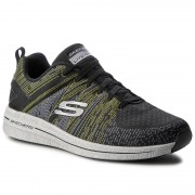 Обувки SKECHERS - In The Mix II 52615/BKLM Black/Lime