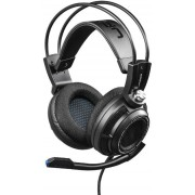 Casti Stereo cu microfon Hama uRage SoundZ 7.1 (Negre)
