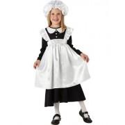 Rubies - Costume da damigella vittoriana, Bambina, taglia: S