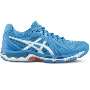 asics Damen-Volleyballschuh GEL-NETBURNER BALLISTIC - blue jewel/white