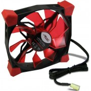 Ventilator Inter-Tech CobaNitrox N-120-R 120mm (LED Rosu)