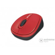Mouse wireless Micrsoft Mobile 3500 BlueTrack, rosu