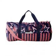 adidas - Stellasport Teambag Printed Geanta Sport bleumarin/rosu neon/alb