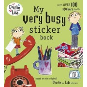 My Very Busy Sticker Book by Child Lauren