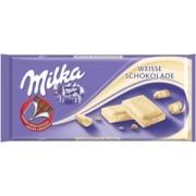 Milka Ciocolata Alba 100g
