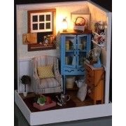 Fun to make, handmade doll house kit set agriculture and fun to decorate (japan import)