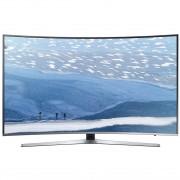 Televizor Smart LED Curbat Samsung 138 cm Ultra HD/4K 55KU6672, Quad Core, WiFi, USB, CI+, Grey