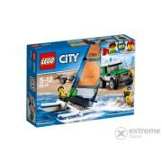 LEGO® City 4x4 with Catamaran 60149