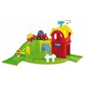 Smoby fermă mecanică şi maşinuţă pentru copii Vroom Planet 211101