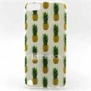 ananas painting patroon TPU zachte hoes voor ipod touch 5